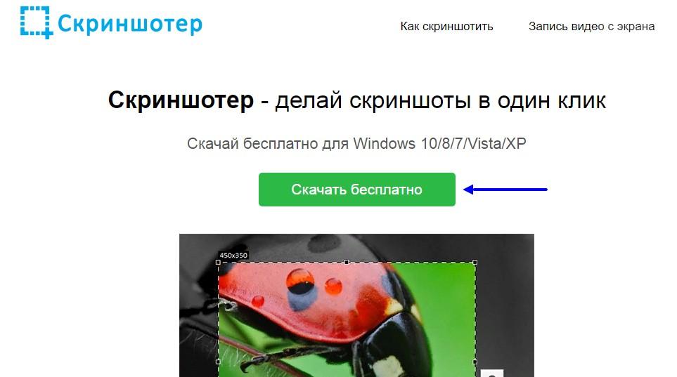 скриншотер бесплатно